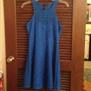 Women's Material Girl blue dress size Small